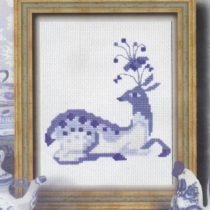 Схема вышивки Благородный олень