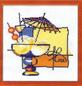 Схема вышивки Мороженое