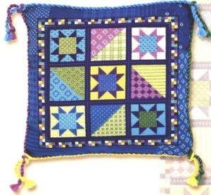 Схема вышивки Подушка-пэчворк