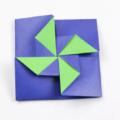 Схема оригами Конверт для подарков своими руками