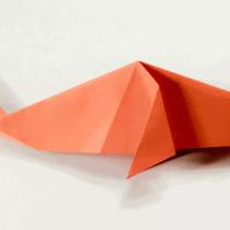 Схема оригами для новичков Рыба-кит