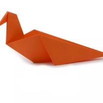 Схема оригами Морская птица Альбатрос (коллекция: Птицы)