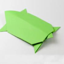 Схема оригами Черепаха из бумаги