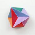 Схема оригами Игрушка-Звезда (коллекция: Украшаем ёлку)