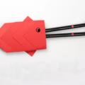 Схема оригами Конверт-рыбка для карандашей или столовых приборов
