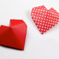 Схема оригами Сердце из бумаги 3D (объемное)