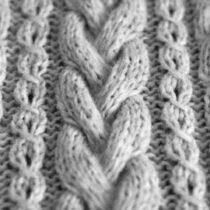 Схемы вязания узоров «кос» и «жгутов» спицами (с фото и описанием для начинающих)