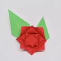 Схема модульного оригами Красивая Роза из бумаги (коллекция: Цветы)