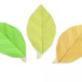 Схема оригами Весенний Листик из бумаги (для цветов и поделок)