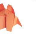 Схема оригами Лисичка из бумаги для детей