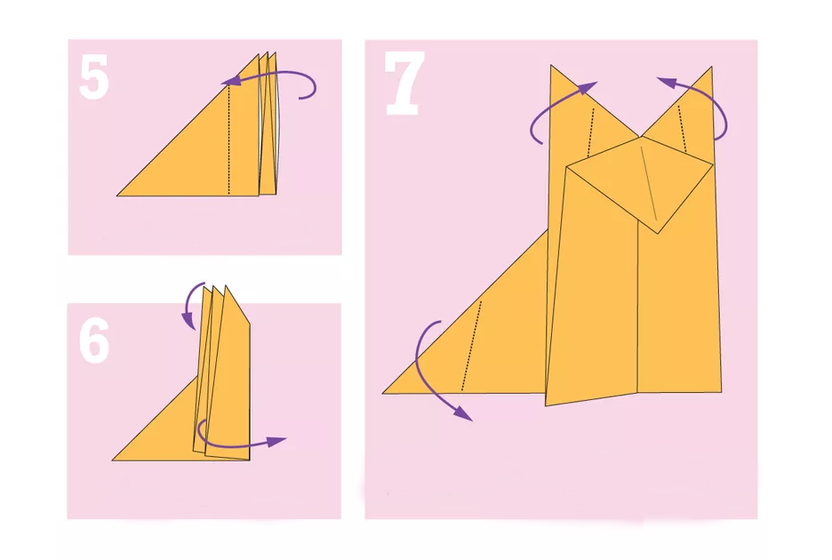 shema-origami-lisichka-3