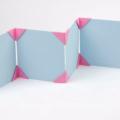 Пошаговая схема оригами Рамка для фотографий из бумаги