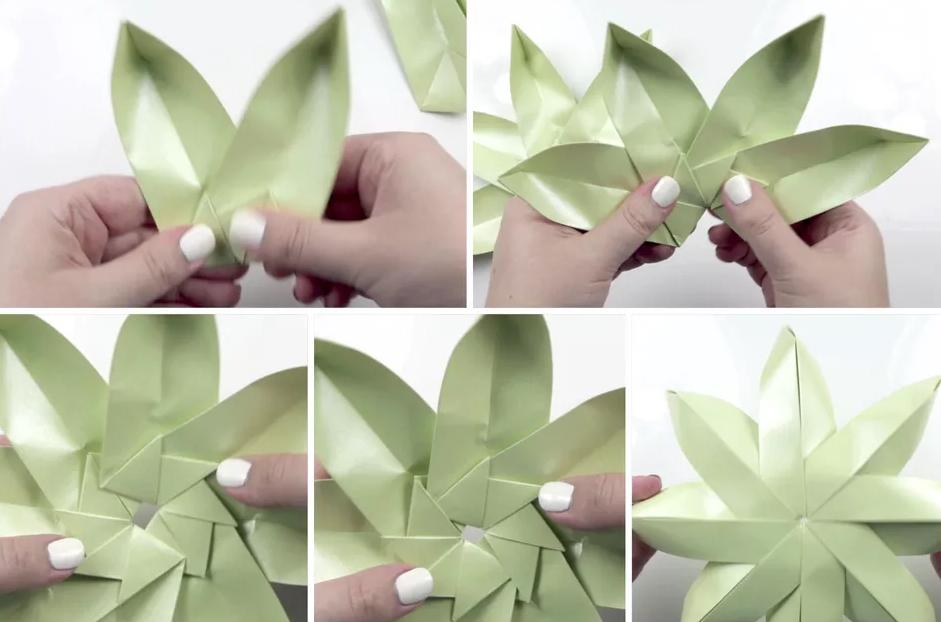 shema-origami-tsvetok-lotosa-s-listyami-11