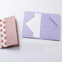 Схема оригами Кошелек для визиток и купюр для начинающих