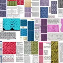 Виды вязания узоров спицами для начинающих: схемы с описанием, фото, видео мастер классы