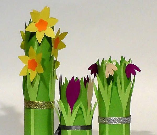 Paper flowers templates