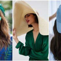 Женские шапки и головные уборы на весну-лето 2020